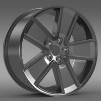 Chevrolet Camaro Redflash 2010 rim 3D Model