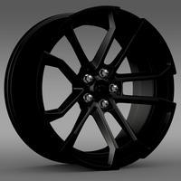 Chevrolet Camaro SSX Concept 2010 rim 3D Model