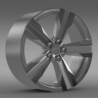 Chevrolet Camaro ZL1 2012 rim 3D Model