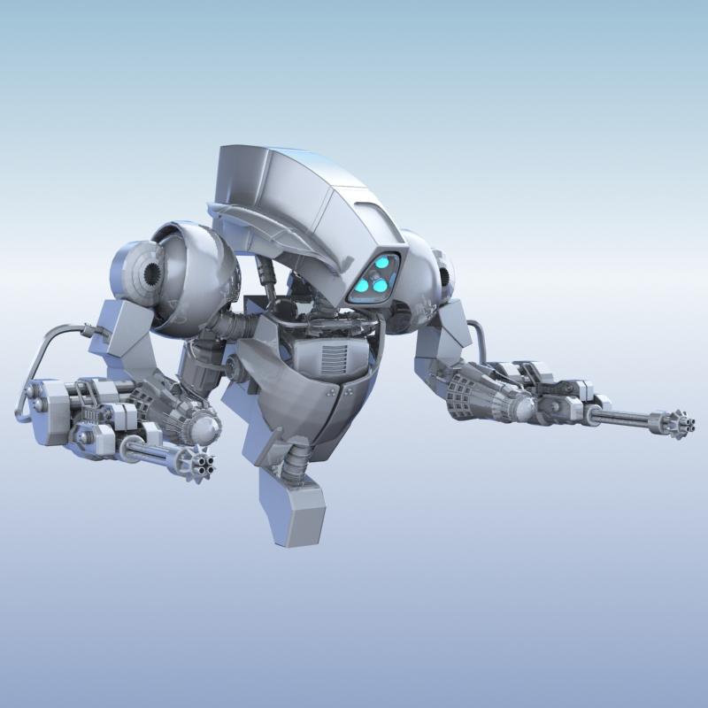 Robot 14 3D Model