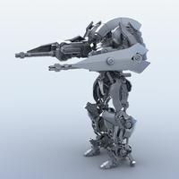 Robot 15  3D Model