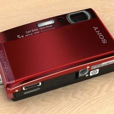 Sony Cybershot DSC-T300 3D Model