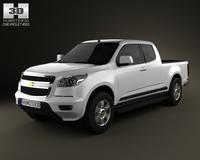 Chevrolet Colorado S-10 Extended Cab 2013 3D Model