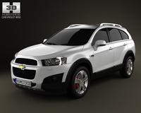 Chevrolet Captiva 2012 3D Model