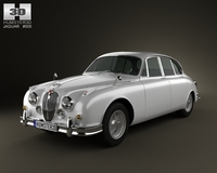 Jaguar Mark 2 1959-1967 3D Model