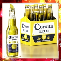 Corona Beer Bottle - 6 Pack 3D Model