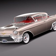 Cadillac Eldorado Biarritz 1957 3D Model