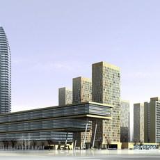 building 411 3D Model