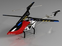 RC Helicopter_Pioneer MX 3D Model