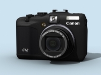 Canon PowerShot G12  3D Model