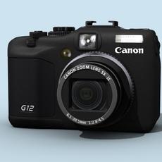 Canon PowerShot G12  3D Model