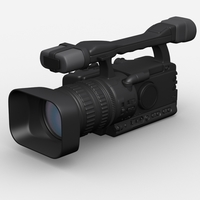 Canon HD Camcorder 3D Model