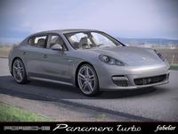 Porsche Panamera STD MAT 3D Model