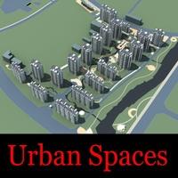 Urban Design 081 3D Model