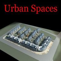 Urban Design 082 3D Model