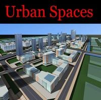 Urban Design 083 3D Model