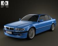 BMW 7 Series B12 Alpina 1999 3D Model