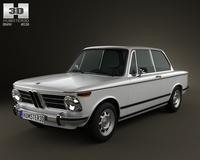 BMW 2002 1968 3D Model