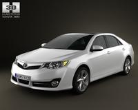 Toyota Camry US SE 2012 3D Model
