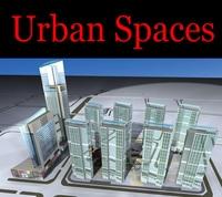 Urban Design 087 3D Model