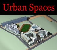 Urban Design 088 3D Model