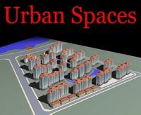 Urban Design 089 3D Model