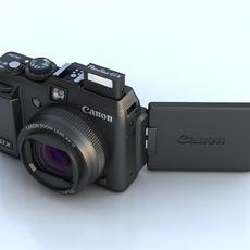 Canon PowerShot G1 X 3D Model