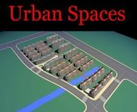 Urban Design 095 3D Model