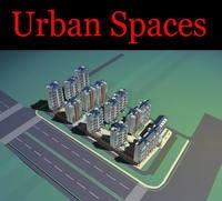 Urban Design 096 3D Model