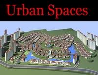 Urban Design 097 3D Model