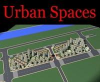 Urban Design 098 3D Model