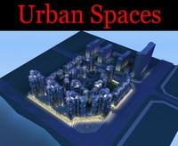 Urban Design 100 3D Model