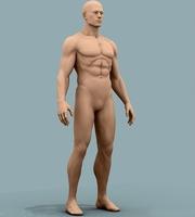 Nude Man 3D Model