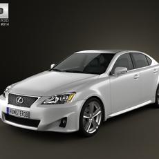 Lexus IS (XE20) 2012 3D Model