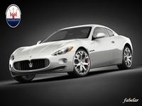 Maserati Gran Turismo 3D Model