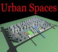 Urban Design 117 3D Model