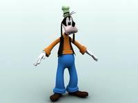 Goofy 3D Model