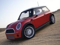 Mini Cooper (red) 3D Model