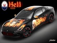 Maserati GT Hell mod 3D Model
