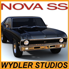 CHEVY NOVA SS 3D Model