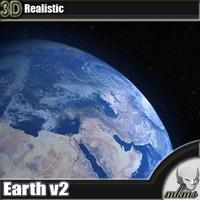 3D Model Earth 3D Model