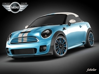 Mini concept coupè 3D Model