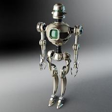 Robot PL270 3D Model