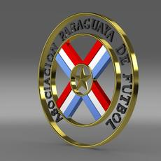 Paraguaya football emblem   3D Model