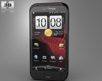 HTC Rezound 4G 3D Model