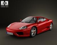 Ferrari 360 Modena 2005 3D Model