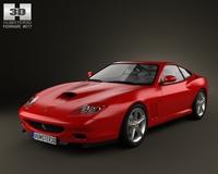 Ferrari 575M Maranello 2002-2006 3D Model