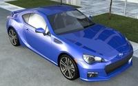Subaru BRZ 3D Model