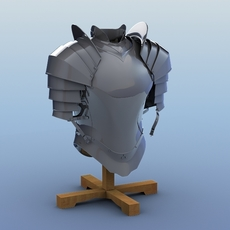 Body Armor for Knight 3D Model