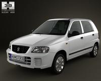 Suzuki (Maruti) Alto 2012 3D Model